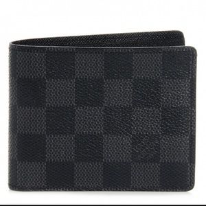 Louis Vuitton Multiple Wallet In Damien Graphite